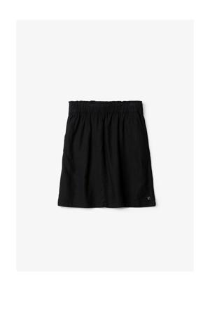 rok met linnen zwart