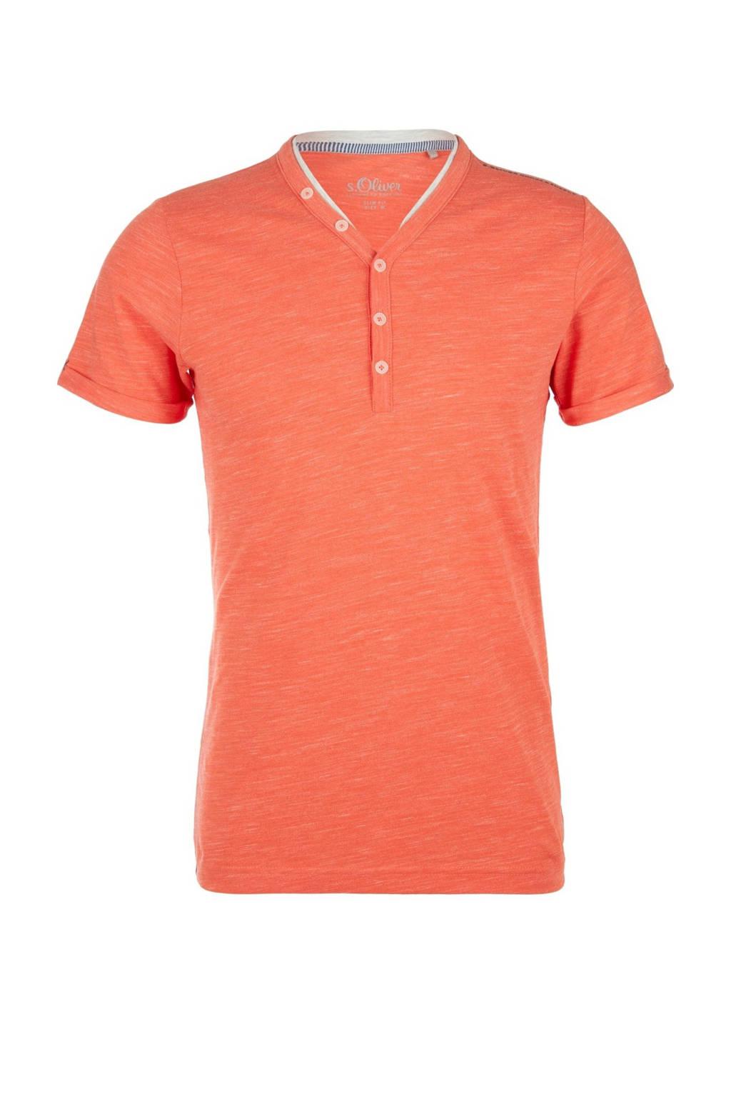 s.Oliver T-shirt oranje, Oranje