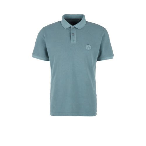 s.Oliver regular fit polo blauw