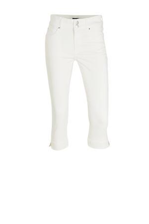 skinny capri jeans wit