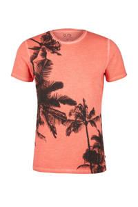 Q/S designed by T-shirt met printopdruk zalm, Zalm