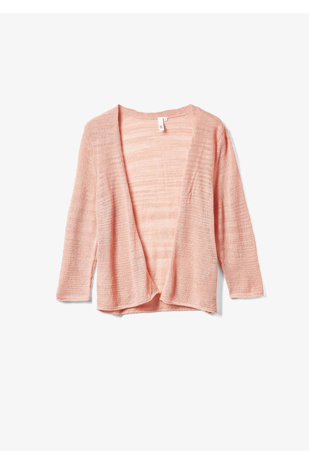 Q/S designed by geweven vest roze, Roze