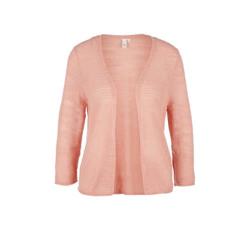 Q/S designed by geweven vest roze