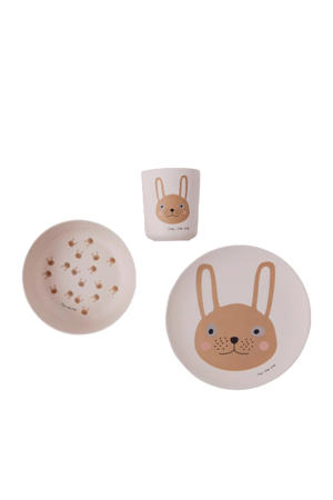 kinderserviesset Rabbit (set van 3)