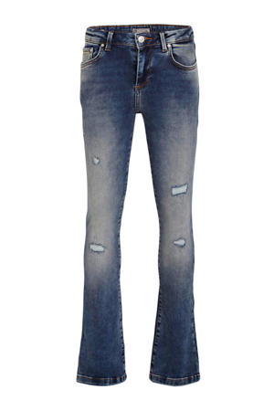 low waist flared jeans Fallon mirage wash