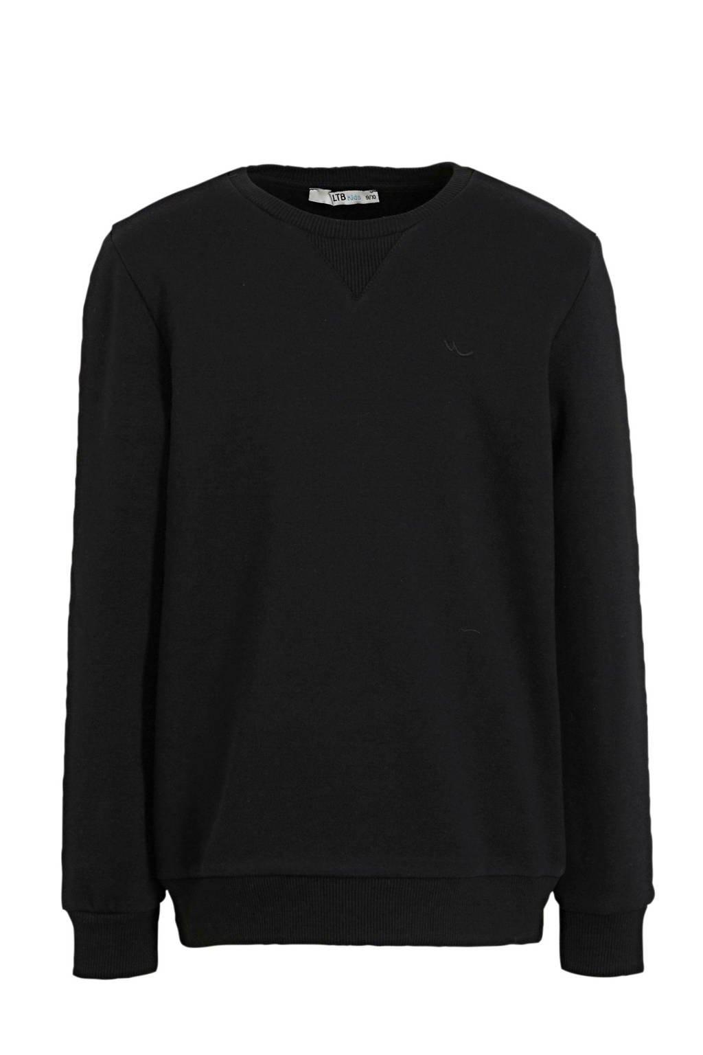 LTB sweater Wimaso zwart, Zwart