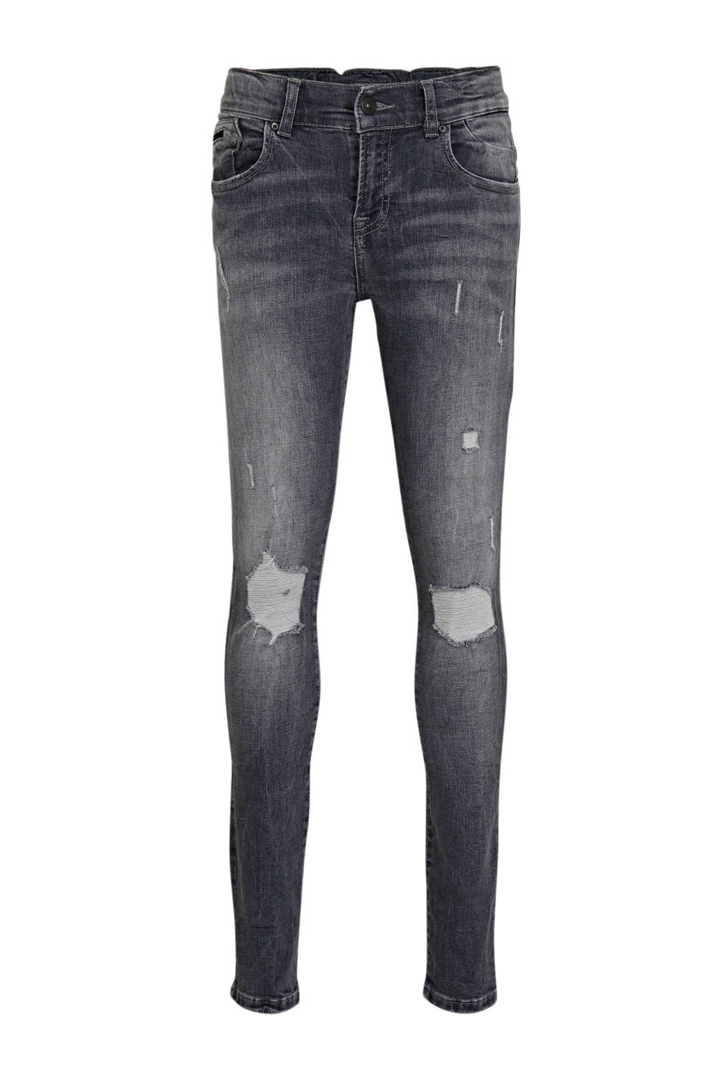 LTB super skinny jeans Ravi met slijtage renell wash, Renell wash