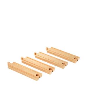 houten Middellange rechte rails - 33335