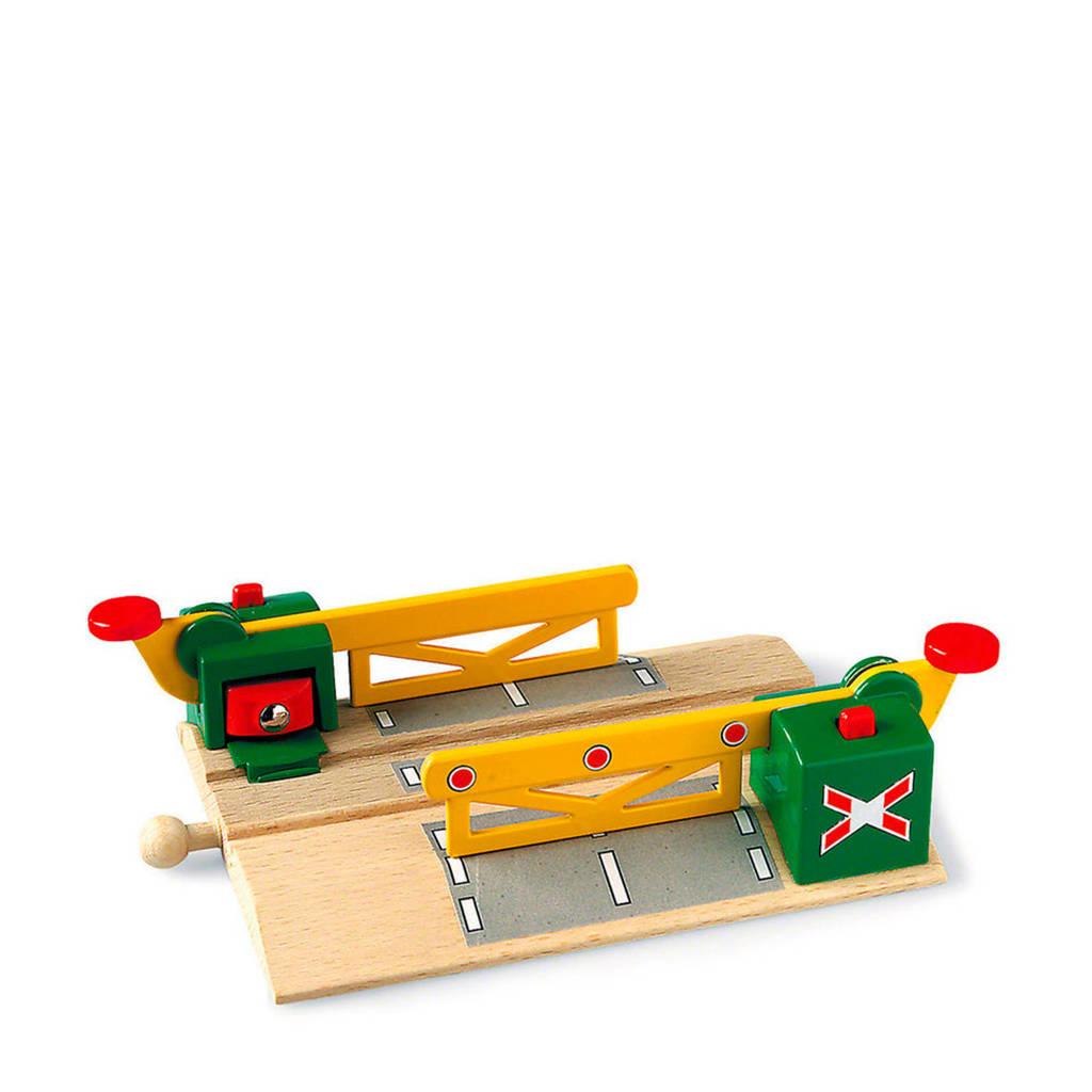 Brio houten Magnetische spoorwegovergang - 33750