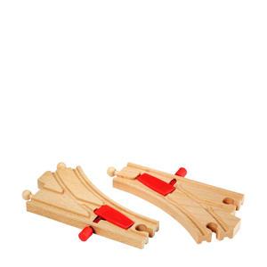 houten Mechanische spoorwissels - 33344