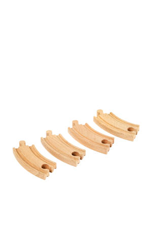 houten Gebogen korte rails - 33337