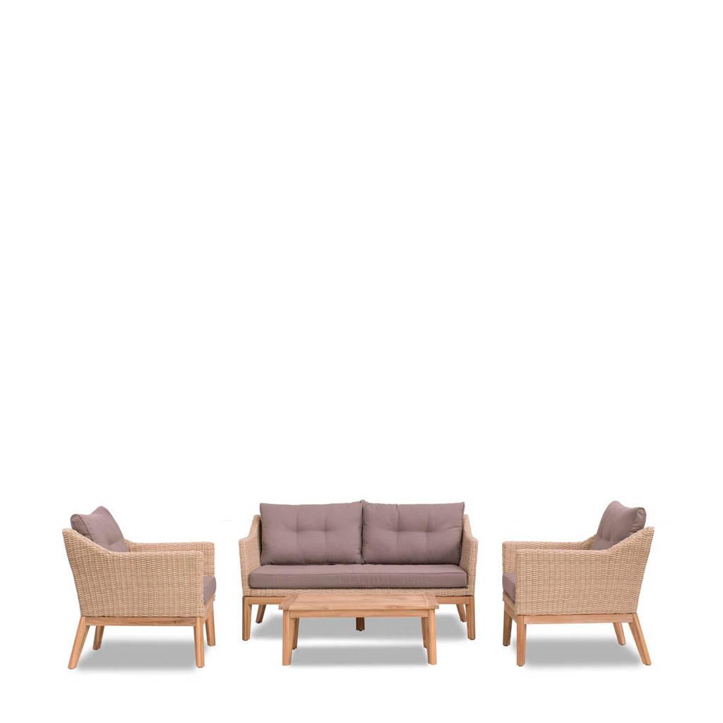 whkmp's own loungeset Alata, Natural white brown