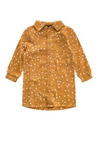 Your Wishes blousejurk van biologisch katoen goud, Goud