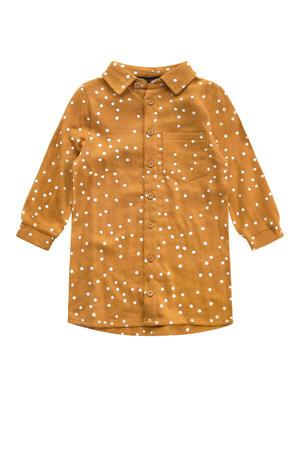blousejurk van biologisch katoen goud