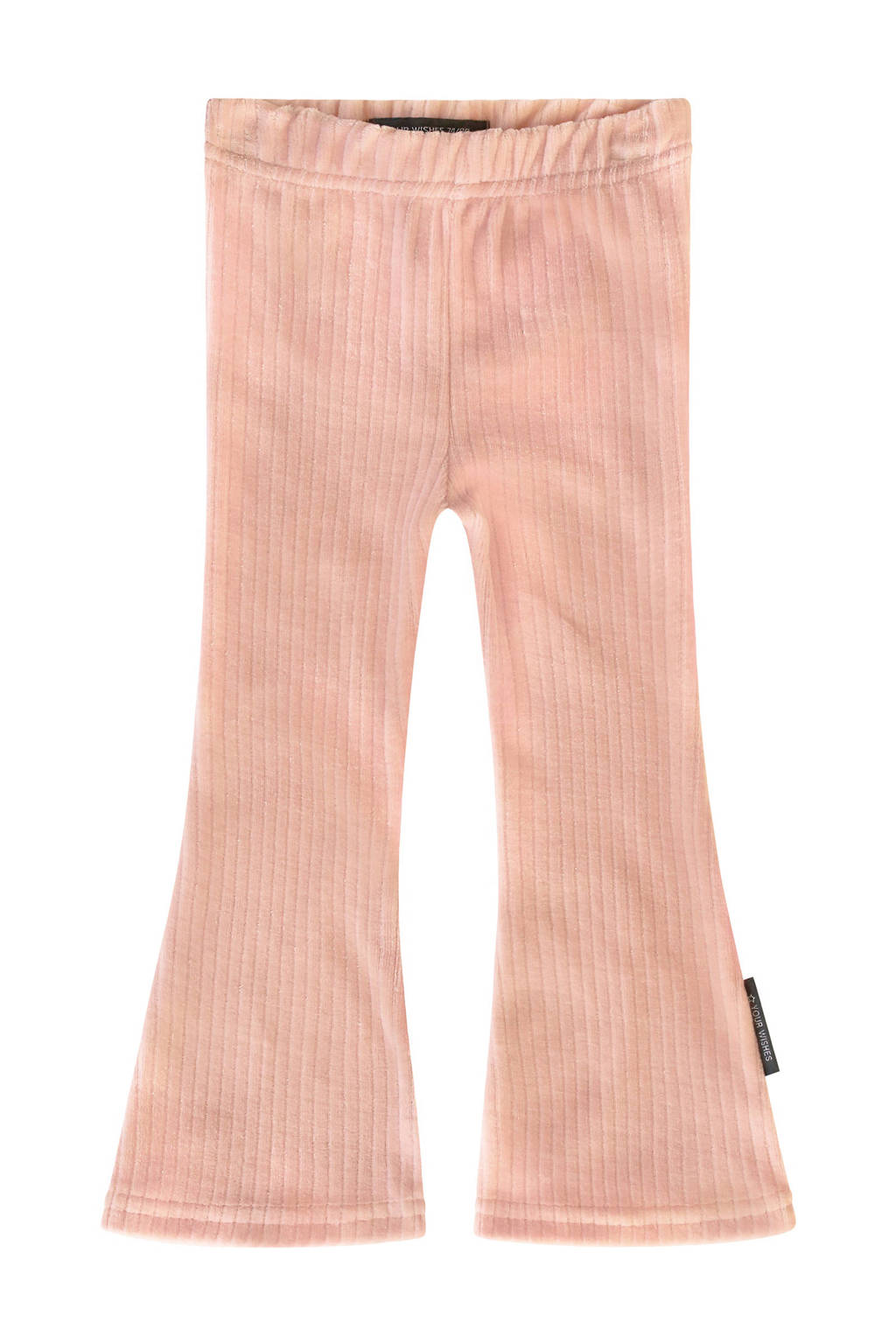 Your Wishes flared broek roze, Roze