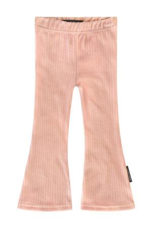 flared broek roze