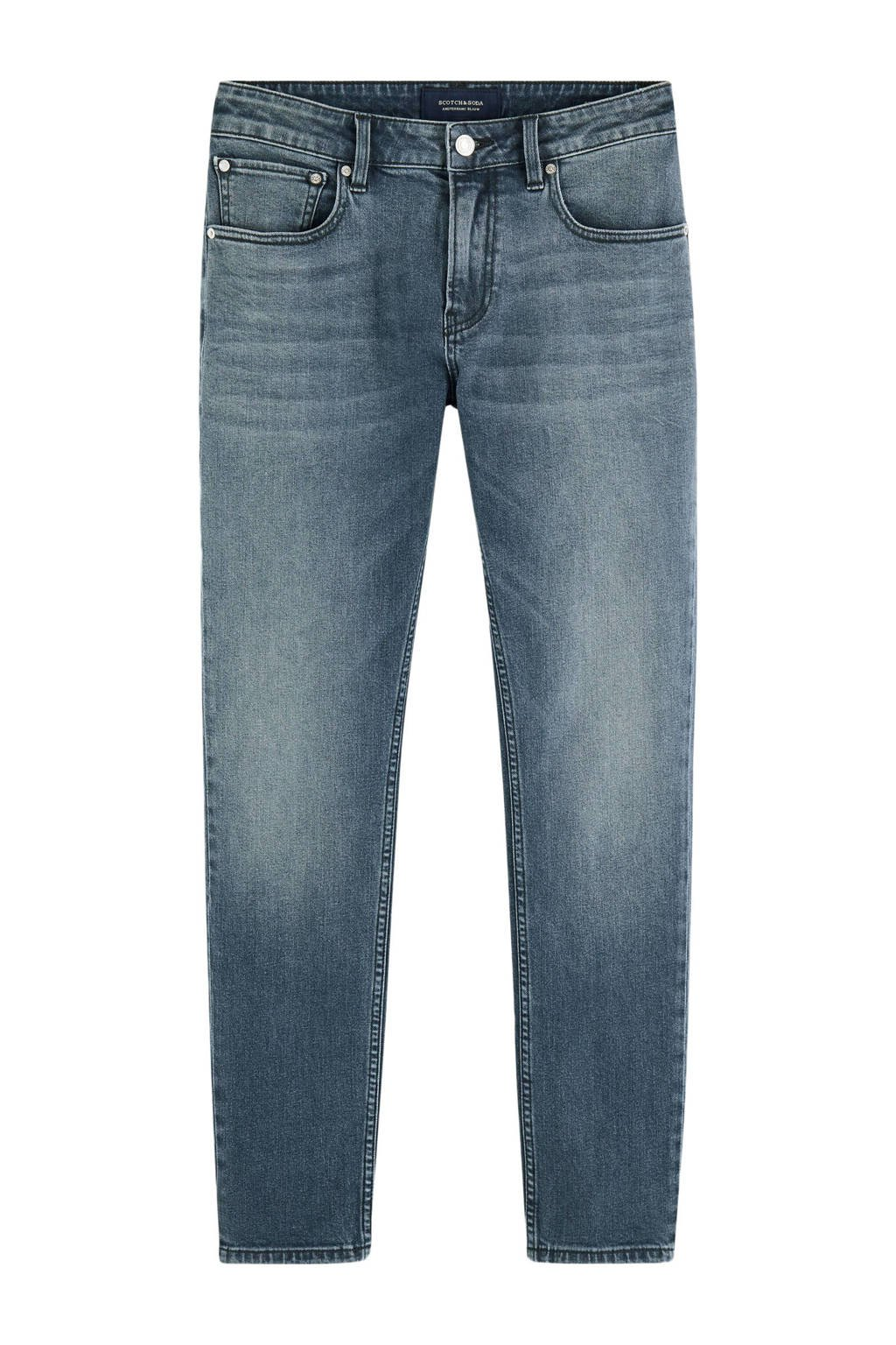 Scotch & Soda Amsterdams Blauw skinny jeans Skim moonlight, Moonlight