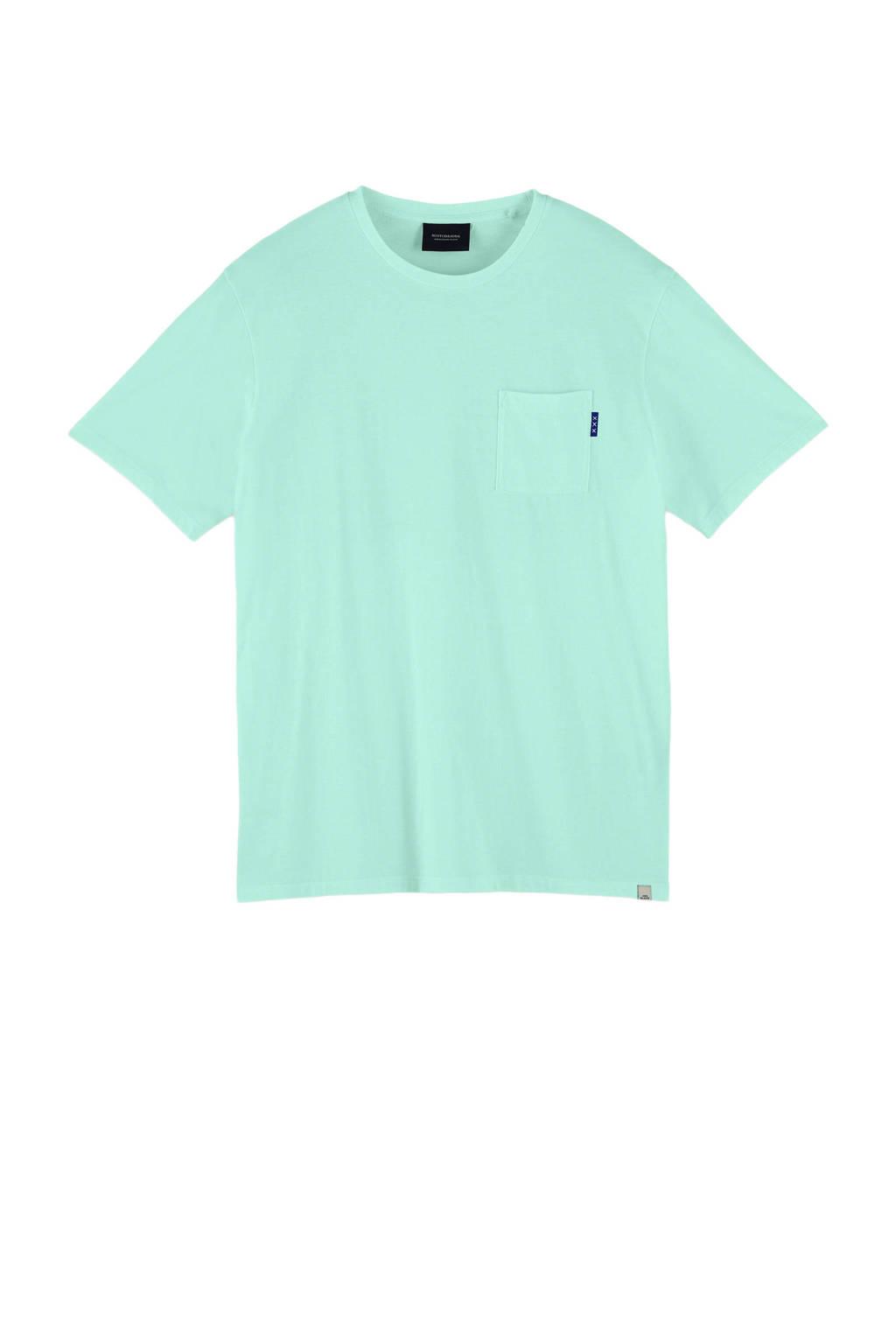 Scotch & Soda T-shirt mintgroen, Mintgroen
