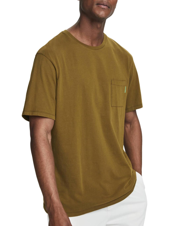 Scotch & Soda T-shirt olijfgroen, Olijfgroen