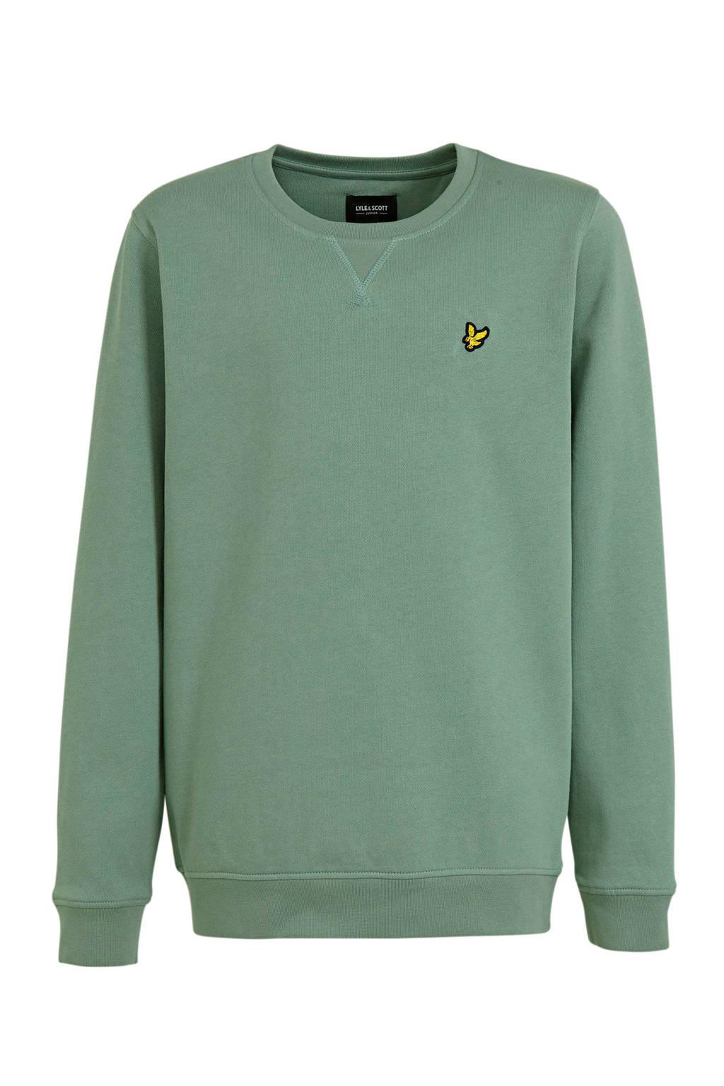 Lyle & Scott sweater grijsblauw, Grijsblauw