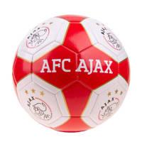 Ajax  Ajax Ajax voetbal groot rood/wit vlakken maat 5, Rood/wit