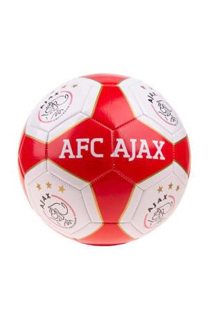 Ajax Ajax voetbal groot rood/wit vlakken maat 5