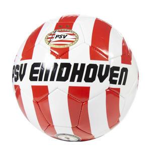 PSV voetbal groot wit/rood banen maat 5