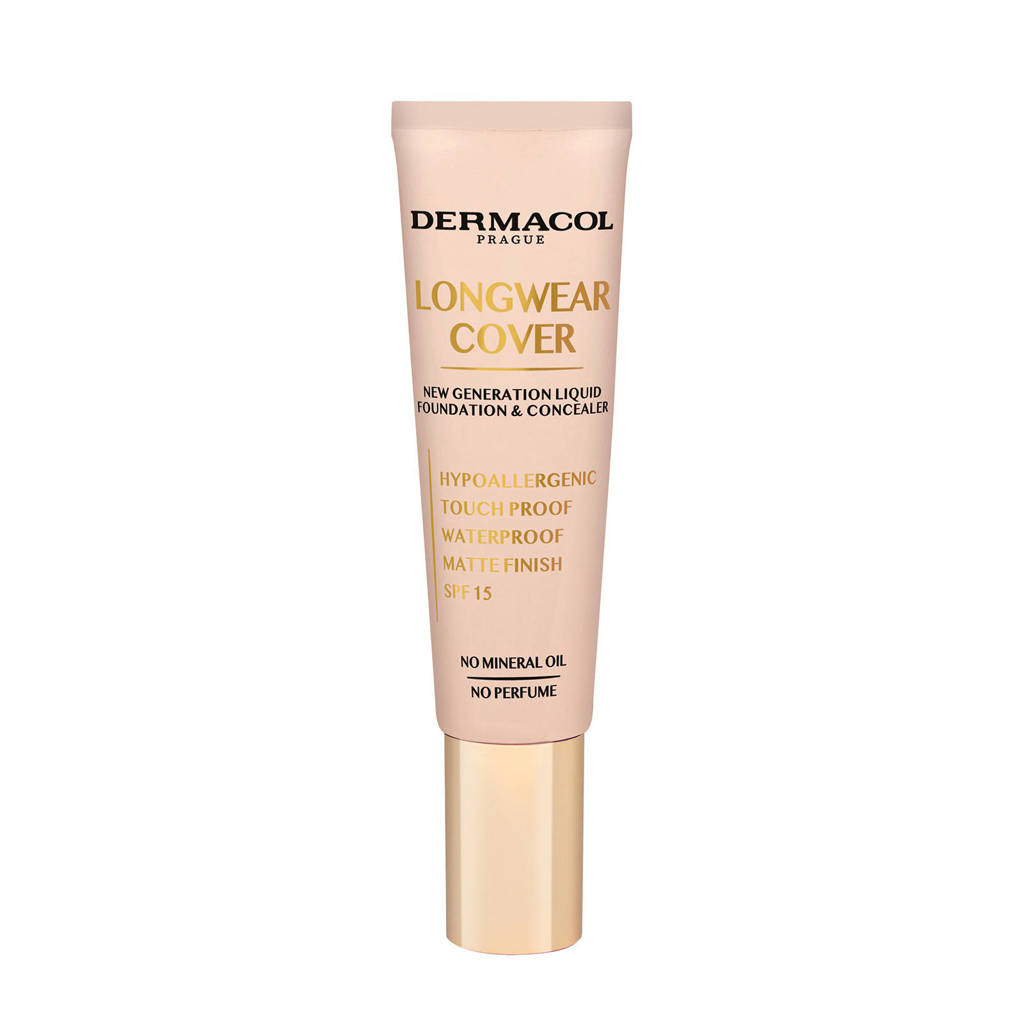 Dermacol Longwear Cover foundation en concealer - Fair, Multi