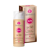 Dermacol SPF 50 Water Resistant Tinted zonnebrandcrème