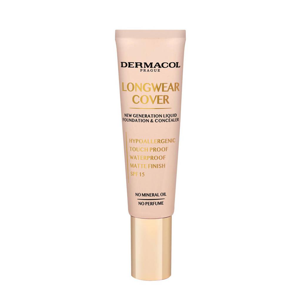 Dermacol Longwear Cover foundation en concealer - Sand, Multi