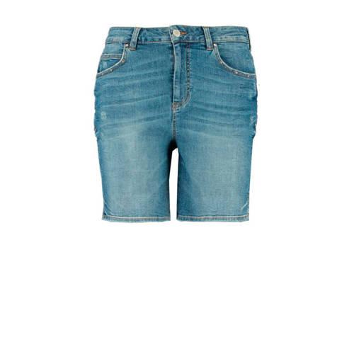 MS Mode jeans short bleached denim