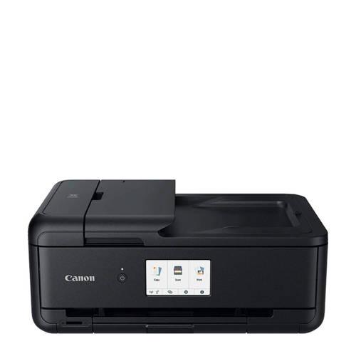 Canon PIXMA TS9550 Multifunctionele inkjetprinter Printen, Kopiëren, Scannen LAN, WiFi, Bluetooth,