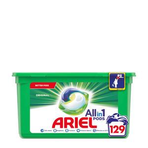 Allin1 Pods Regular wasmiddelcapsules - 3x 43 wasbeurten