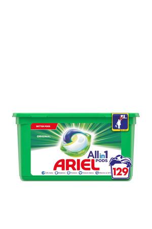Allin1 Pods Regular wasmiddelcapsules - 129 wasbeurten