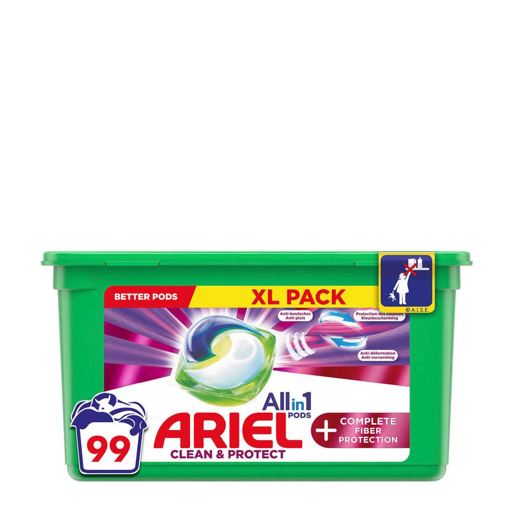 Ariel Allin1 Pods +Volledige Vezelbescherming wasmiddelcapsules - 99 wasbeurten