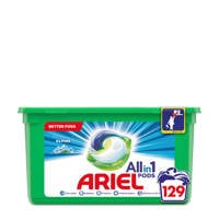 Ariel Allin1 Pods Alpine wasmiddelcapsules - 129 wasbeurten