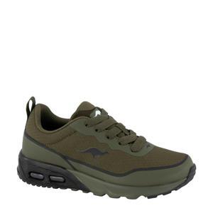sneakers kaki/zwart