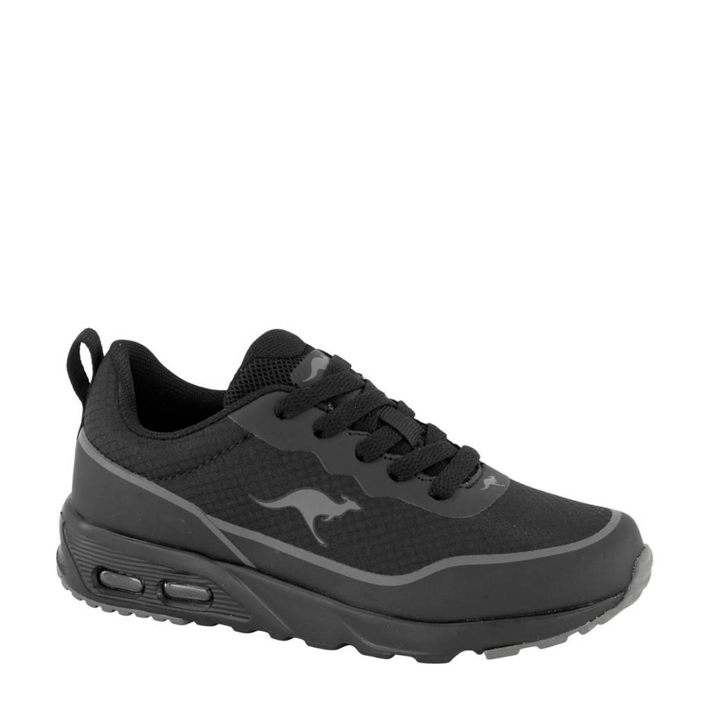 Kangaroos   sneakers zwart, Zwart