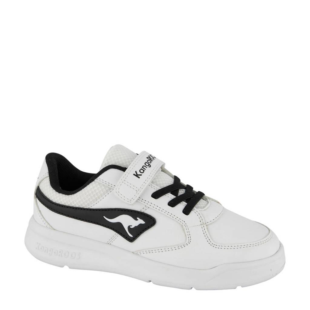 Kangaroos   sneakers wit/zwart, Wit/zwart