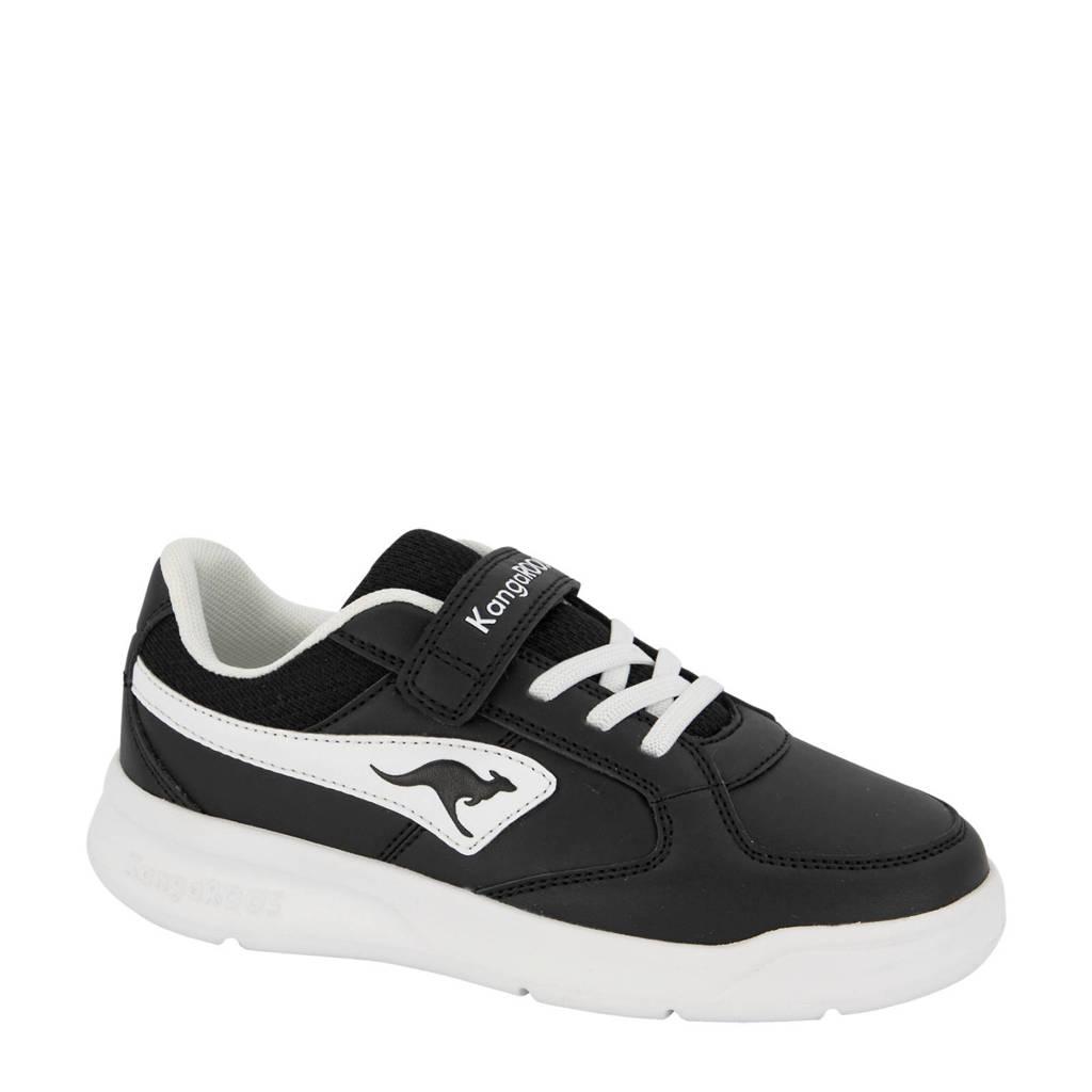 Kangaroos   sneakers zwart/wit, Zwart/wit