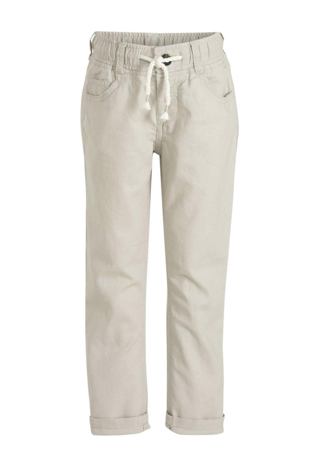 C&A Palomino broek met linnen beige, Beige