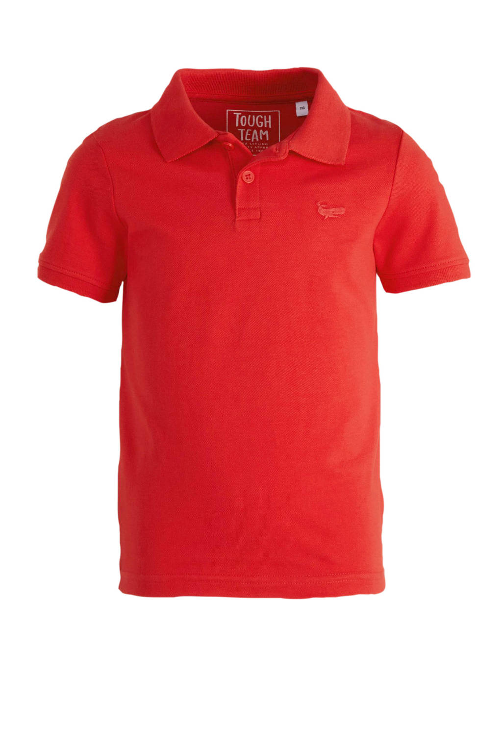 C&A Palomino polo met borduursels rood, Rood