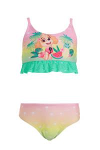 C&A Rodeo bikini met Paw Patrol print geel/groen, Roze