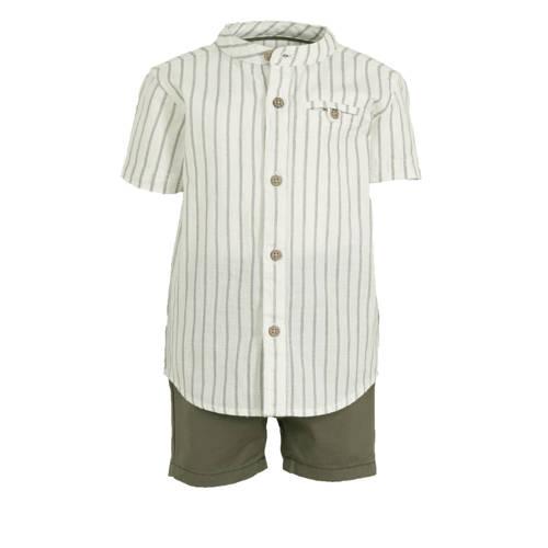 C&A Baby Club overhemd + korte broek - set van