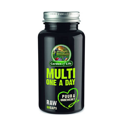 Garden of Life Raw Multi one a day capsules - 60 s
