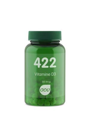 422 Vitamine D3 50 mcg tabletten - 120 stuks