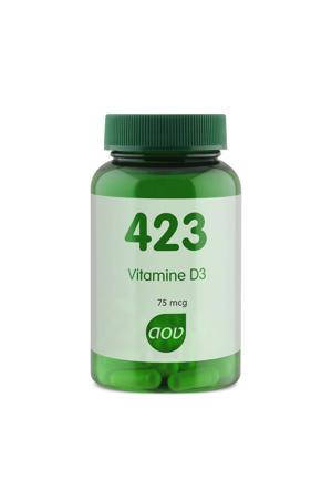 423 Vitamine D3 75mcg Vegacaps - 90 stuks