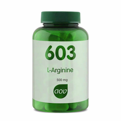 AOV 603 L -Arginine 500 mg Vegacaps - 90 stuks