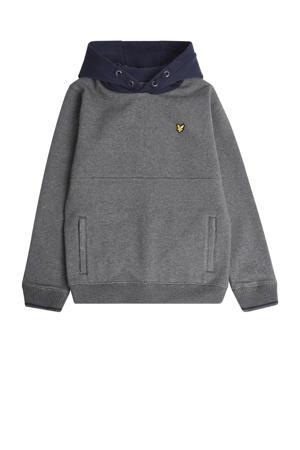 hoodie grijs melange