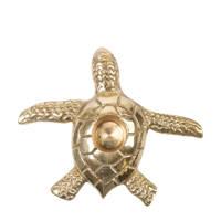 À la kandelaar Turtle, Goud